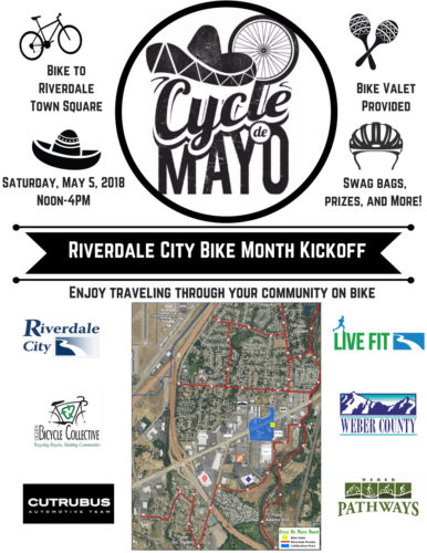 The Cycle de Mayo Festival will be held on May 5, 2018 in Riverdale, Utah.