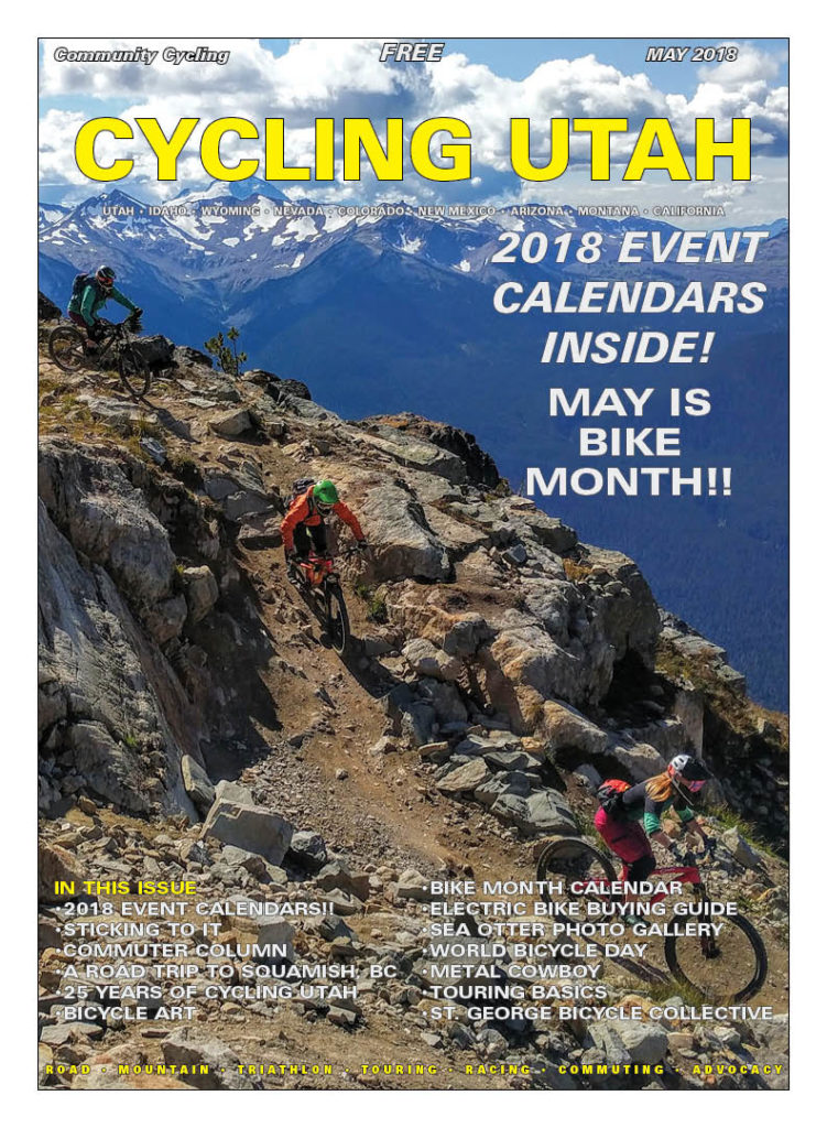 Cover Photo: Stephanie Nitsch, Sam Fox, and Piper Sadler on the Top of the World trail in Whistler, BC. Photo by Eric Kramer