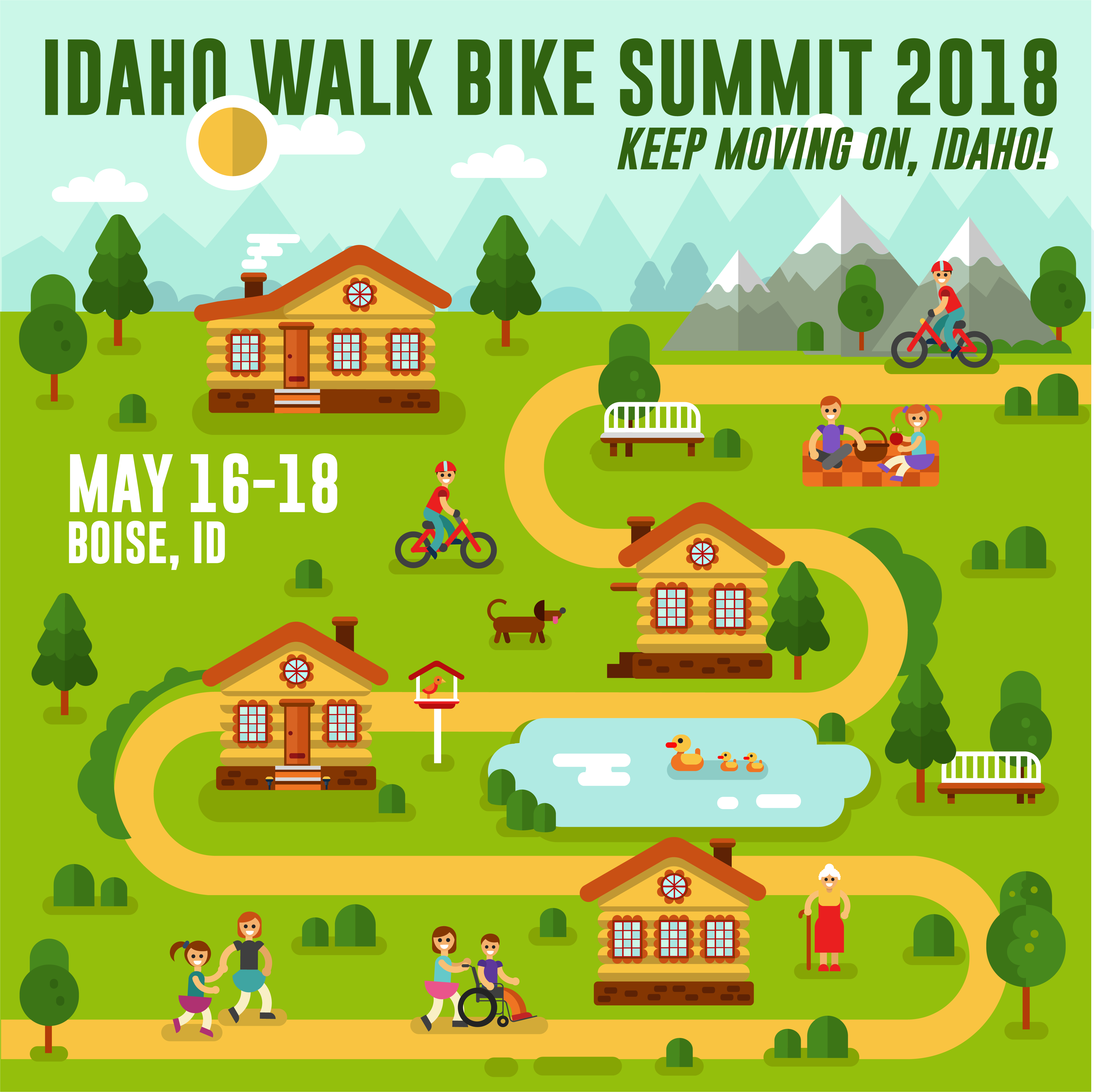 Russ Roca of the Path Less Pedaled will highlight the 2018 Idaho Walk Bike Summit in May. For more, see pathlesspedaled.com Photo courtesy Russ Roca