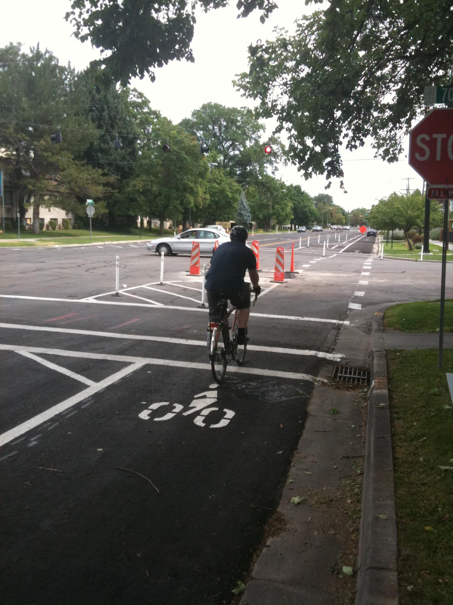300 E Protected Bike Lane Salt Lake City IMG_3564