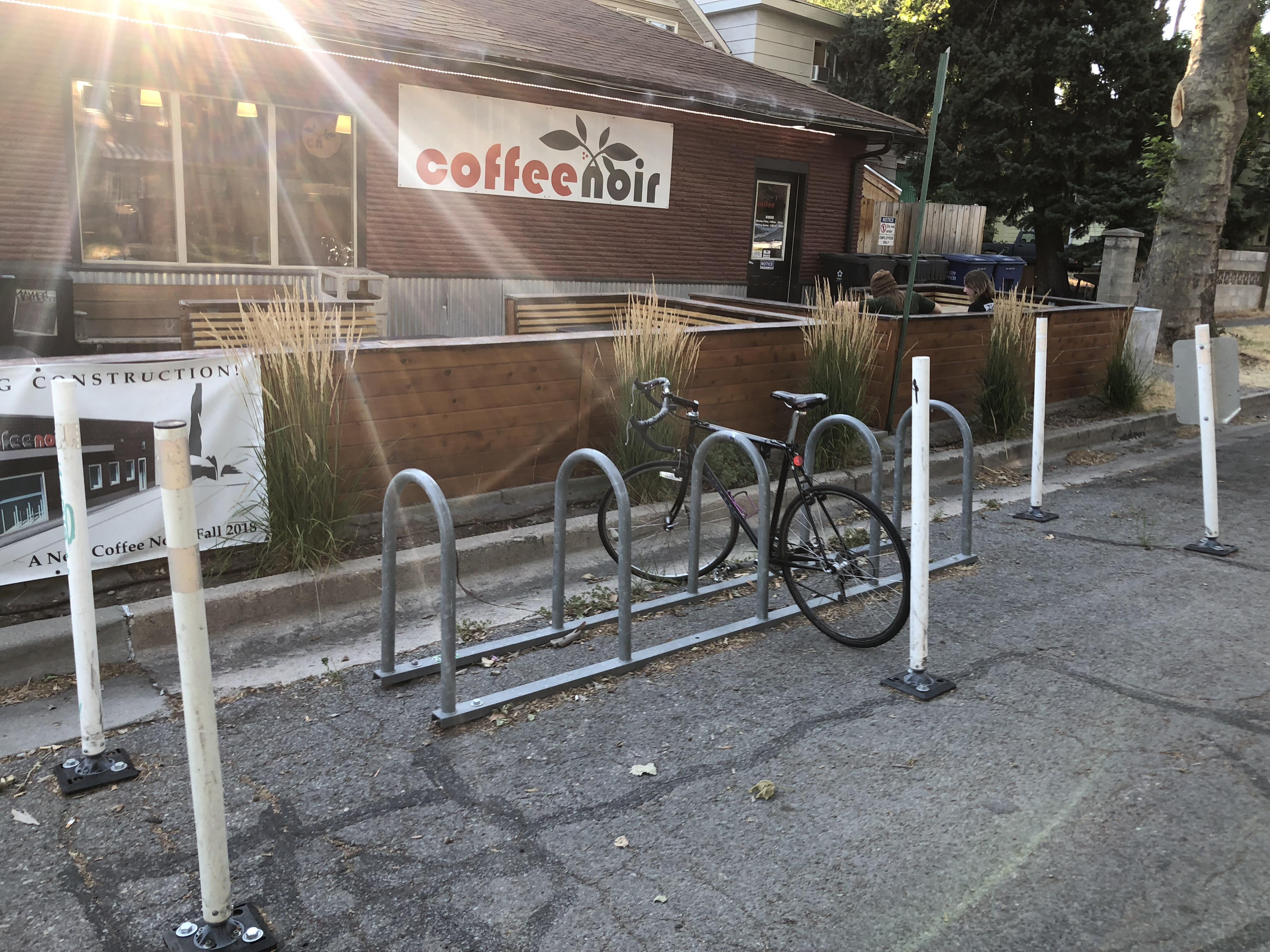 Cafe Noir Bike Corral Salt Lake City Utah IMG_3613