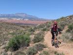 David Ward on the Barrel Roll Trail in St. George, Utah. Photo by Karma Ward