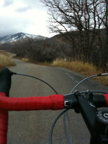 City Creek Canyon in Salt Lake City, Utah is one of the premier rides in the city because of the beauty, proximity, and the closure to almost all automobile traffic (except service vehicles). Photo by Dave Iltis