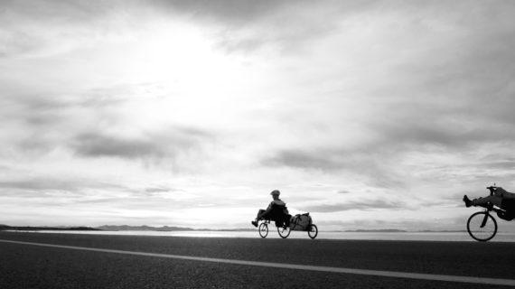 Overnight Bike Touring to Antelope Island, Utah