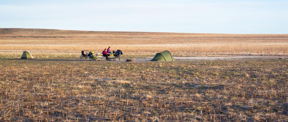 Campsite WRB #17. Pretty Bleak. Photo by Martin Neunzert
