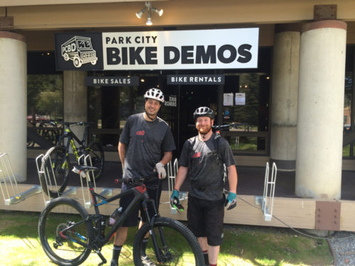Park City Bike Demos, a try before you buy concept bike shop, is up for sale. Photo by Dave Iltis