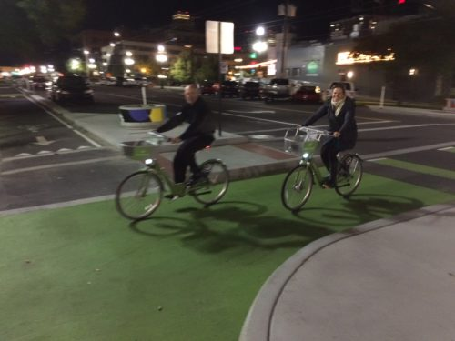 GreenBike has changed downtown Salt Lake City with 33 stations and hundreds of bikes. Photo by Dave Iltis