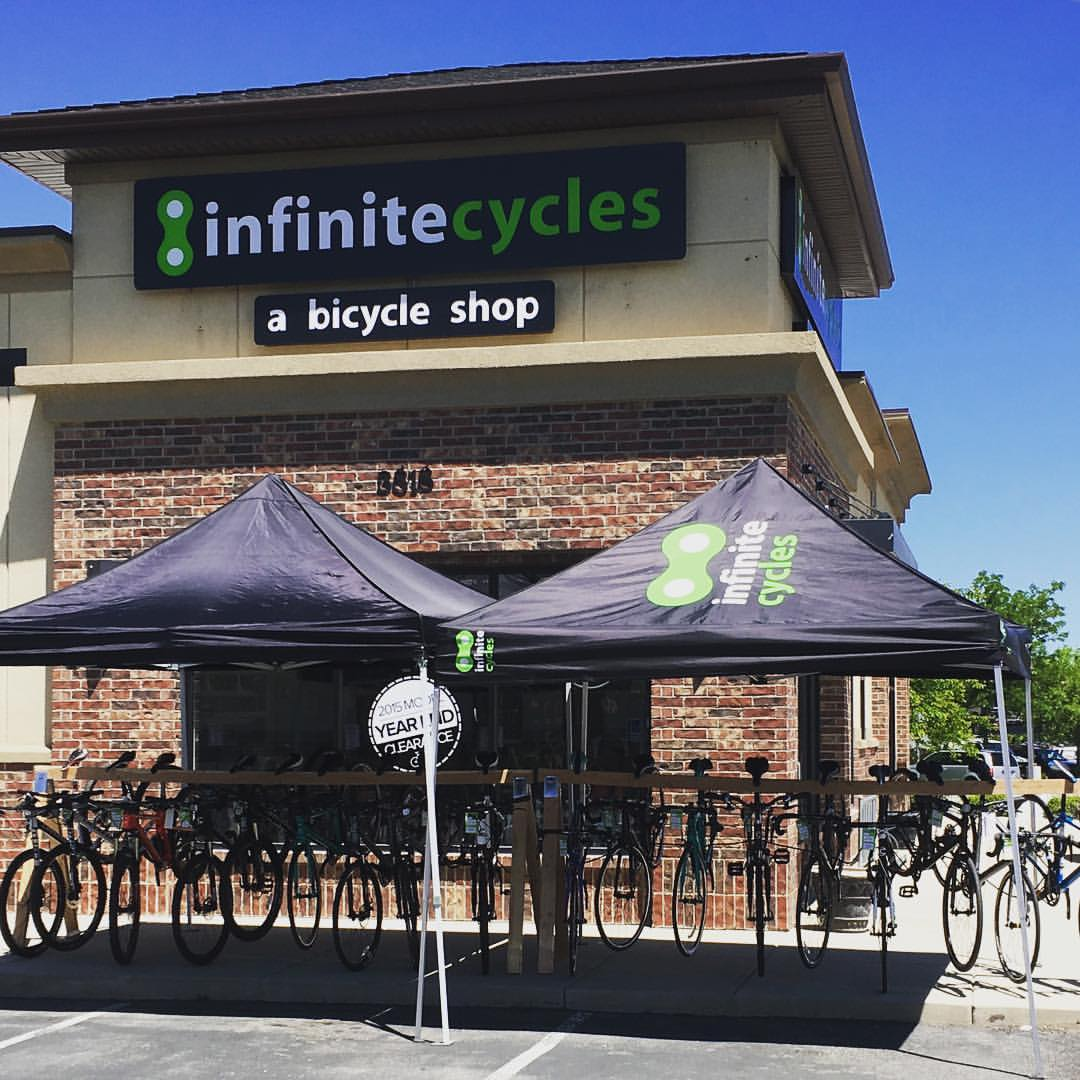 Infinite Cycles in Riverton is closing after 11 years in business. Photo courtesy Infinite Cycles