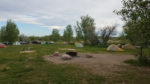 The group camp at Cherry Creek. Photo by Chris Blinzinger