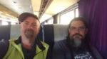 The ride home from Denver to Salt Lake City. Photo by Chris Blinzinger