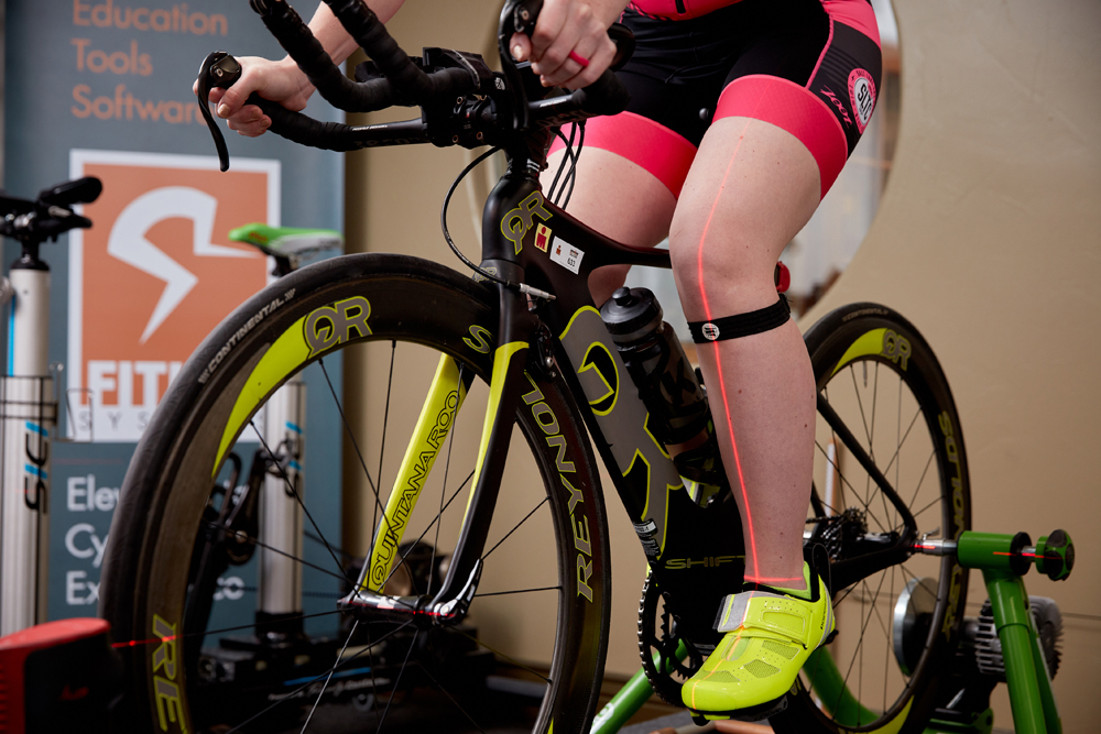 knee alignment in bicycle fit