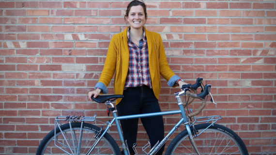 Stephanie Tomlin: Still Bike Commuting and Still Making Biking Better for Commuters