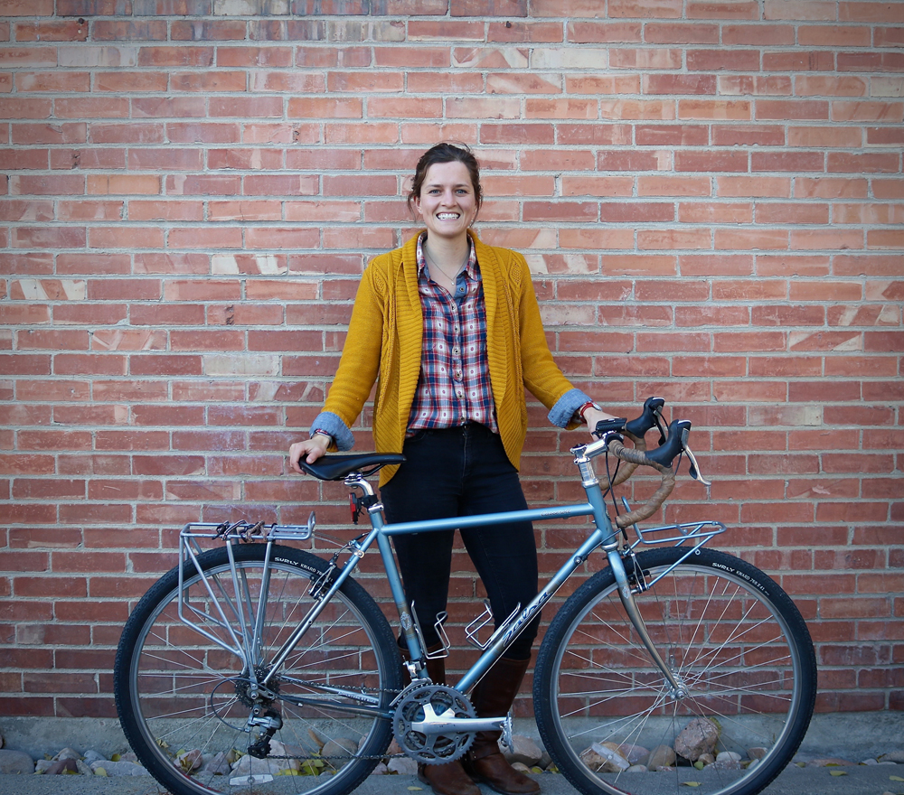 Stephanie Tomlin is a transportation planner with Fehr & Peers and also sits on the board of Bike Utah. Photo by Phil Sarnoff