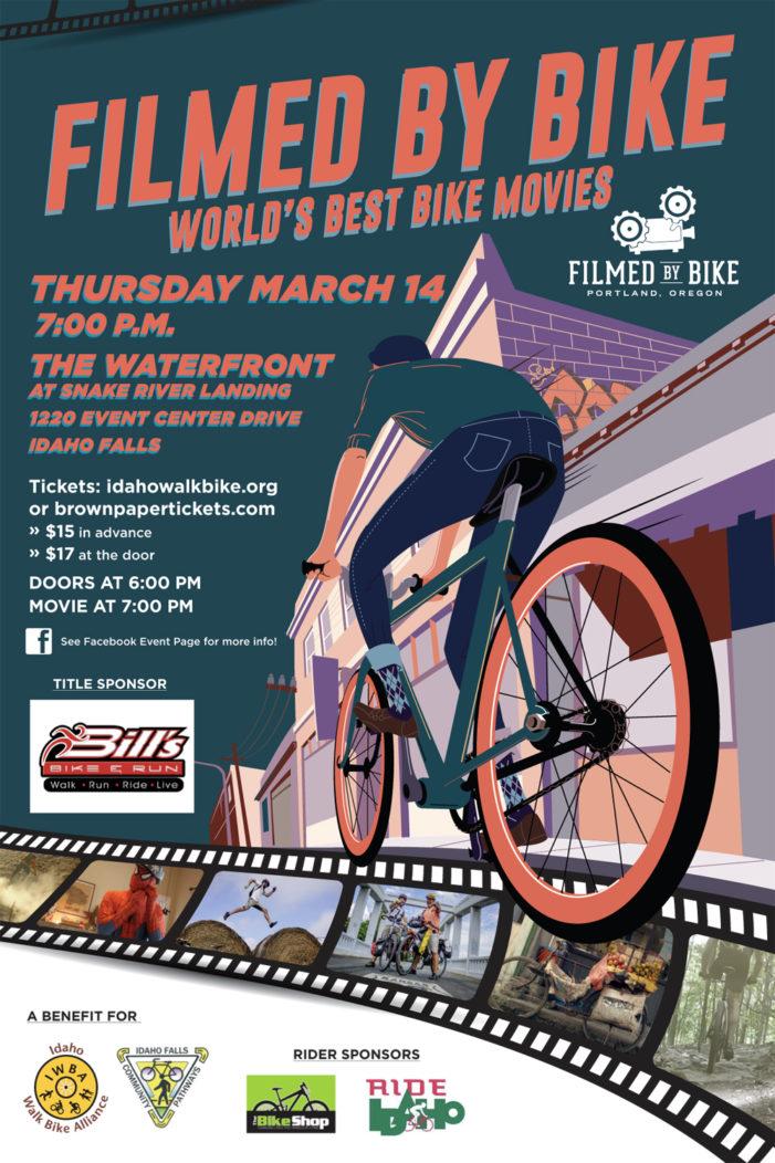 Filmed By Bike Festival to Stop in Idaho Falls, 3-14-19