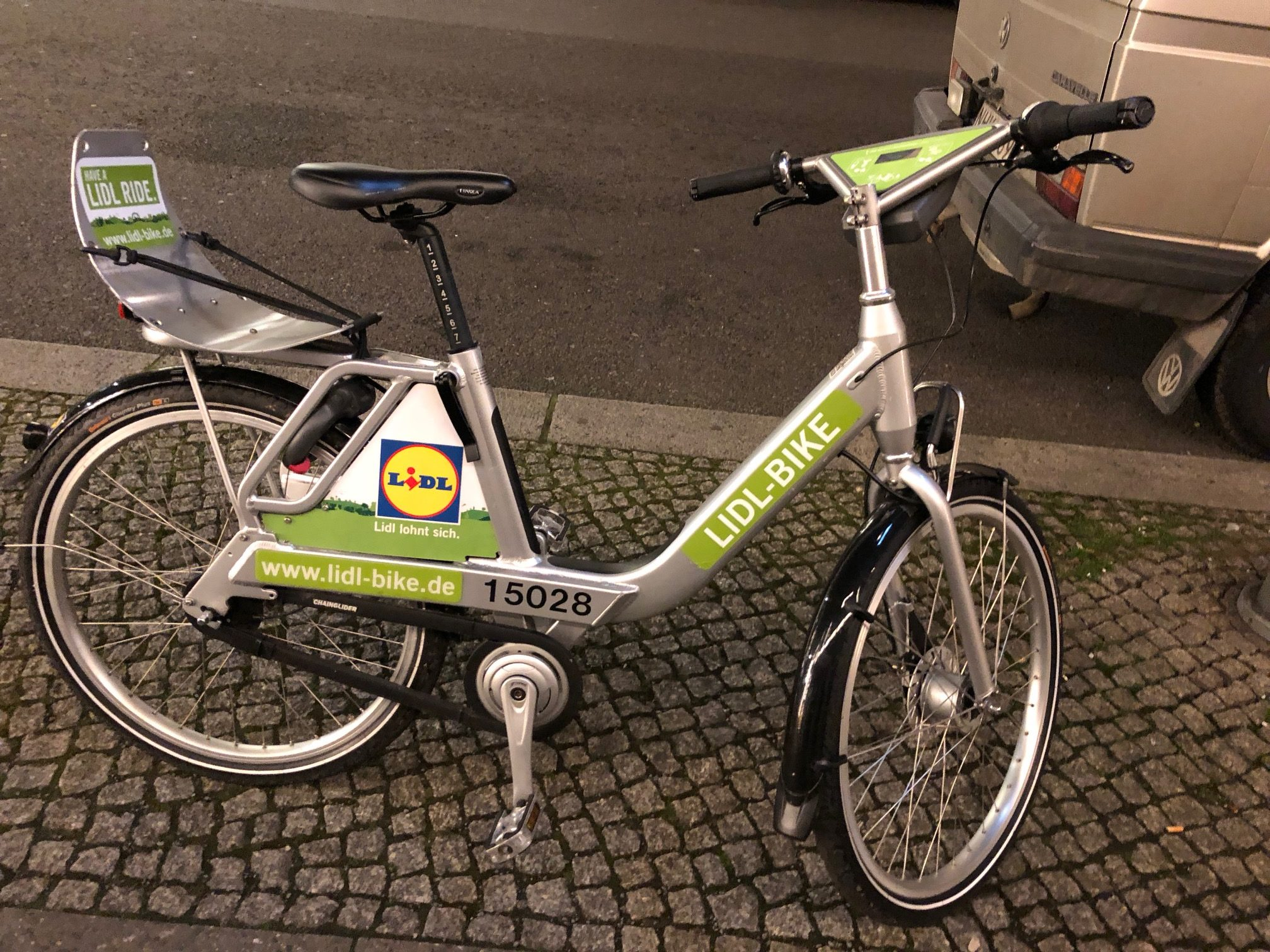 LIDL-BIKE is a member of the Call a Bike family - and it rocks!