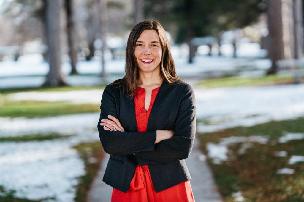 Salt Lake City Mayoral Candidate Erin Mendenhall, photo courtesy Mendenhall for Mayor.