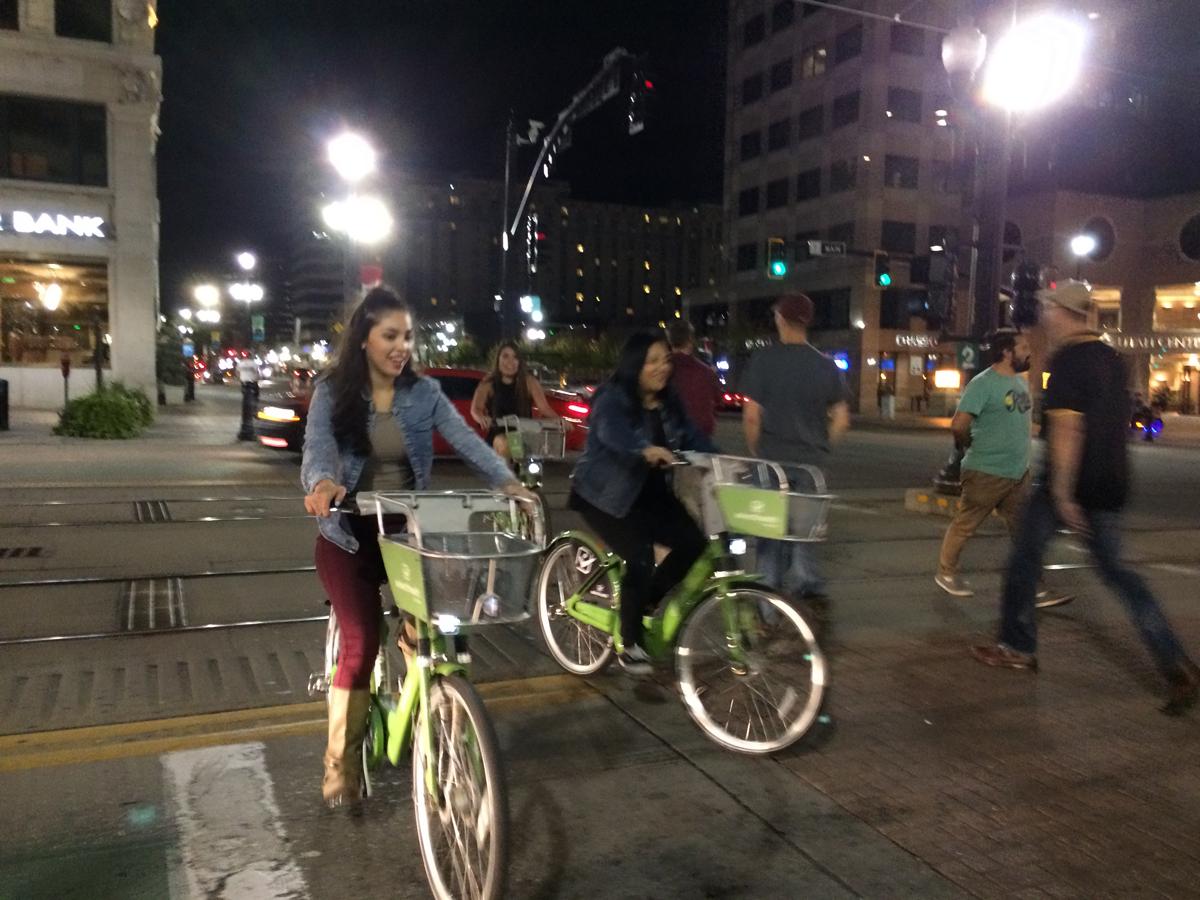 GreenBike Bike Share has changed downtown Salt Lake City! Photo by Dave Iltis
