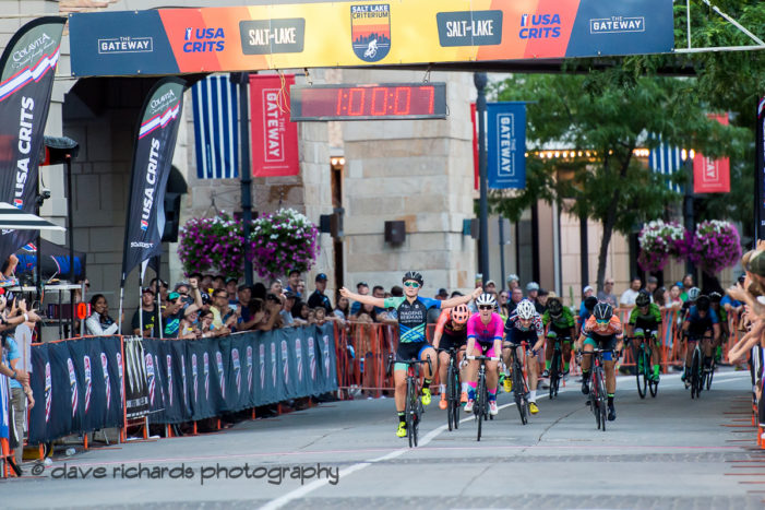 Owen, Williams win 2019 Salt Lake Criterium – Report, Results, Photos