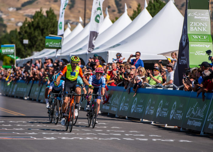 Marengo Surprises on Stage 1, Craddock in Yellow at 2019 Tour of Utah