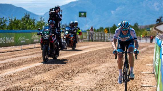Hermans Seizes Tour of Utah Leader's Jersey on Powder Mountain