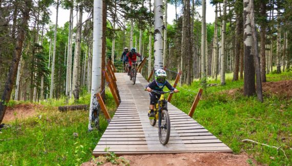 New Mexico's Angel Fire Bike Park Extends Season to November 3