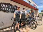 The Bike Collective staff. Photo by Donna McAleer