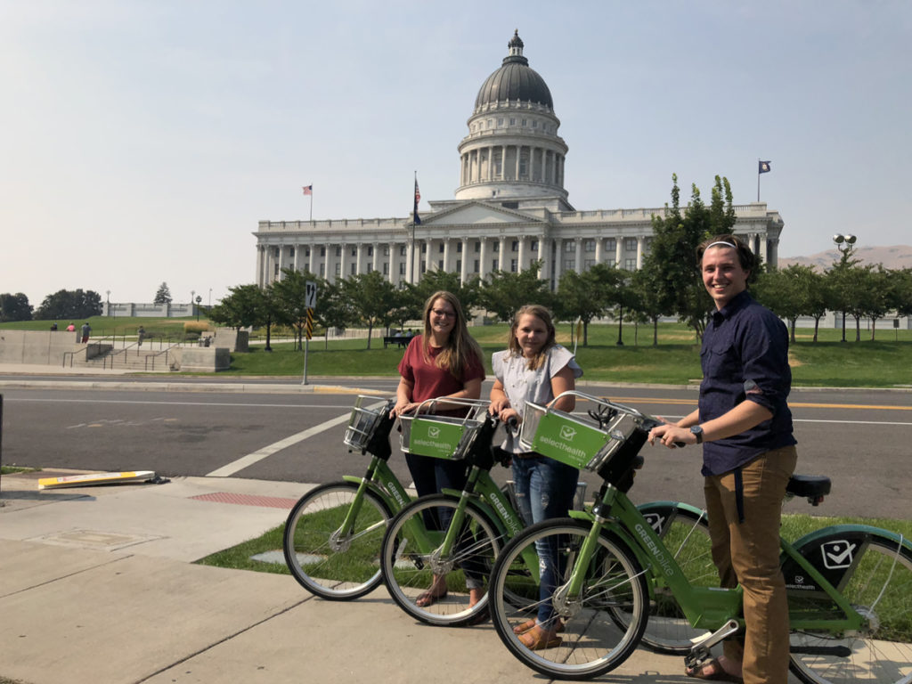 Bike Shares will be free on Saturday, October 26, 2019 in Salt Lake City, Boise, St. George, and Park City. Photo by Dave Iltis