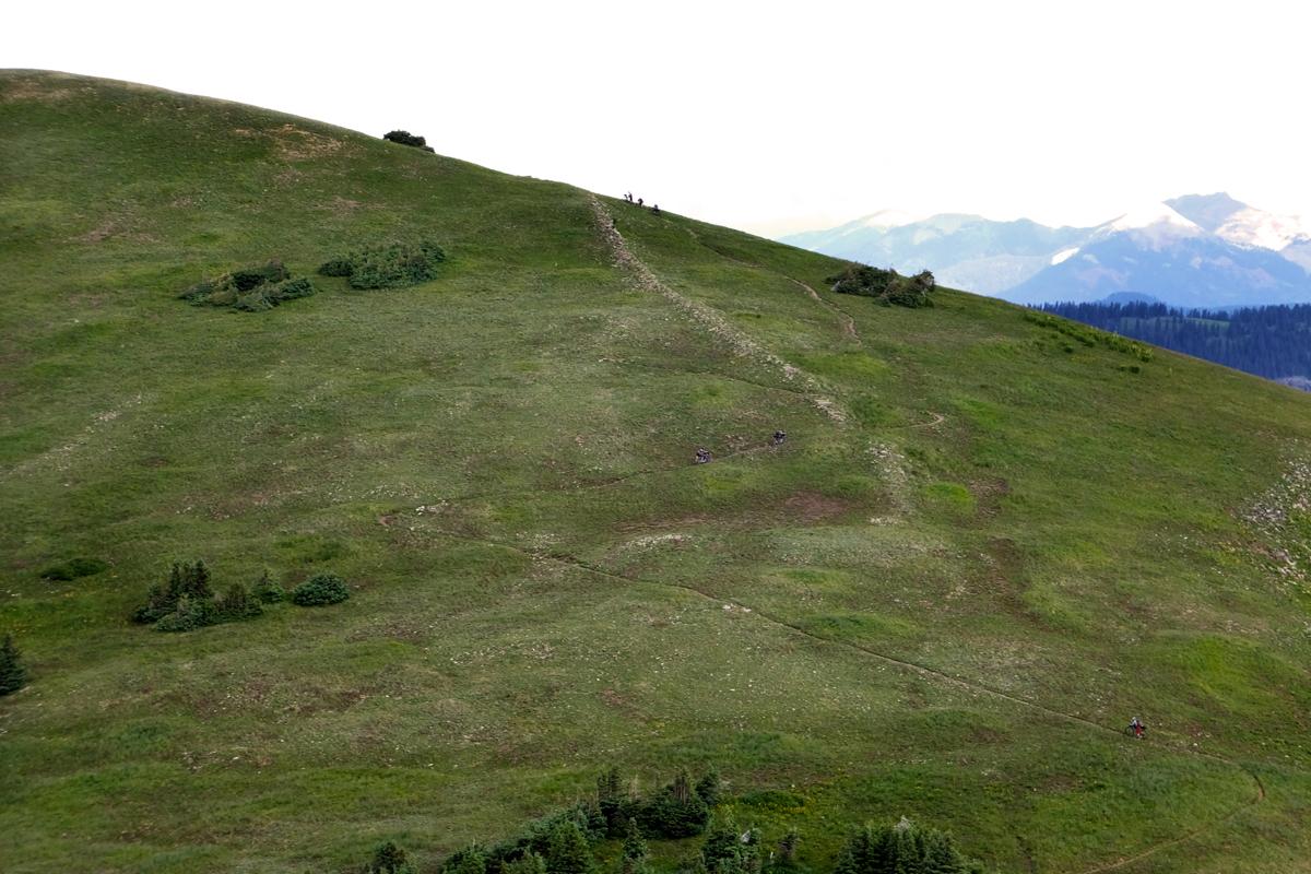 Rugged trail near Blackhawk Pass. Photo courtesy Adam Lisonbee