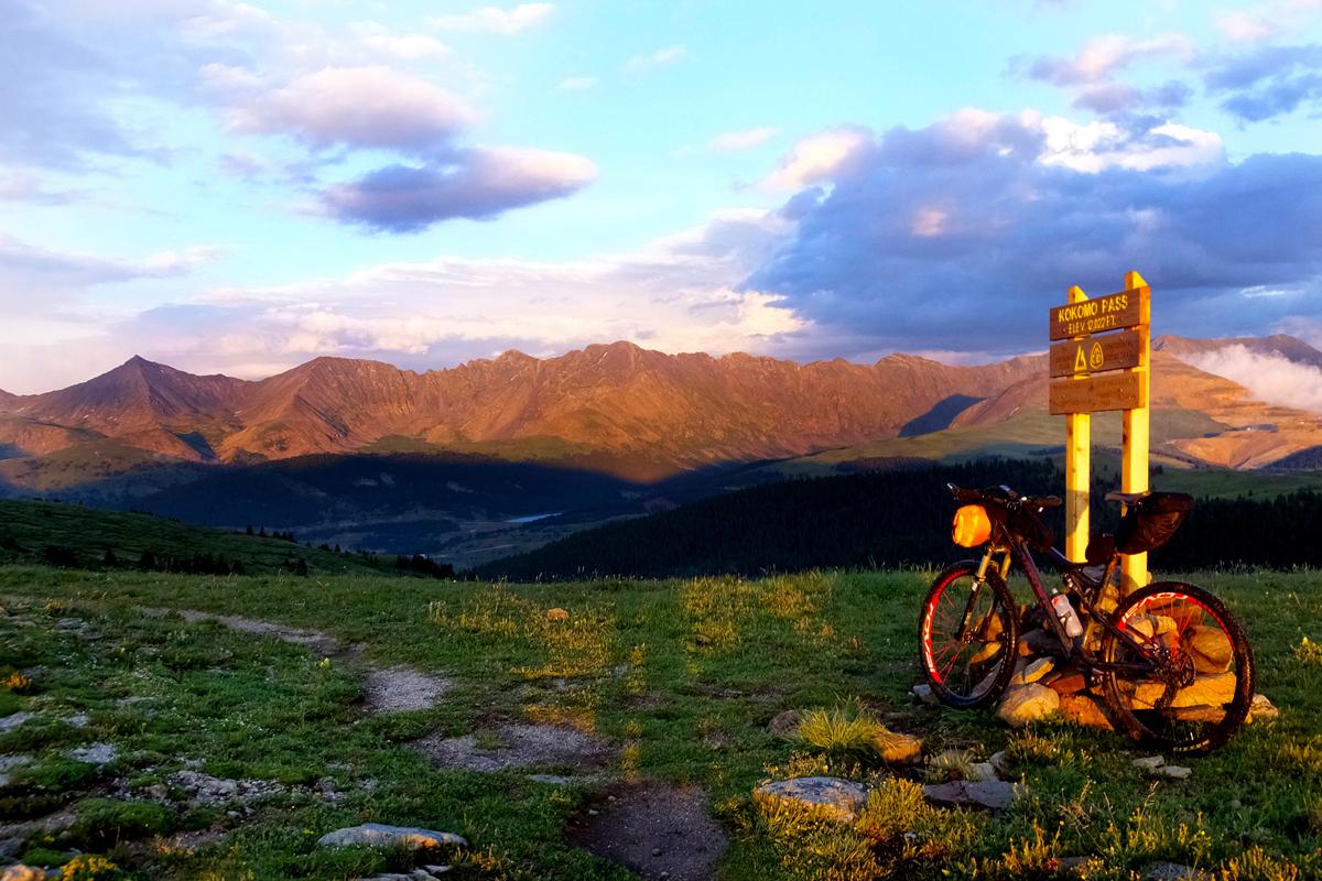 Sunset at Kokomo Pass 12,070 feet. Photo courtesy Adam Lisonbee