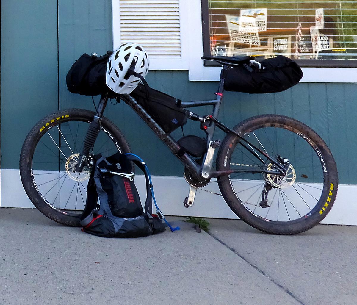 Adam's bike. Photo courtesy Adam Lisonbee
