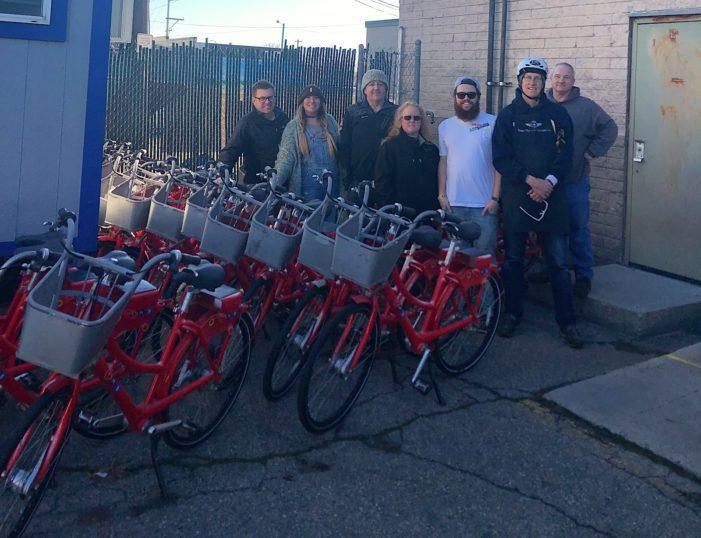 Boise GreenBike Donates Bikes to Interfaith Sanctuary