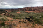 Rim view of Snow Canyon from the Arizona ride. Photo by David Collins