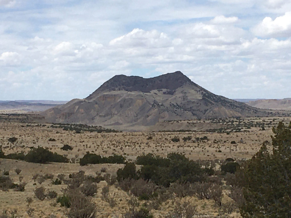 Cerro Cuate on the Cabezon gravel ride. Photo by Don Scheese