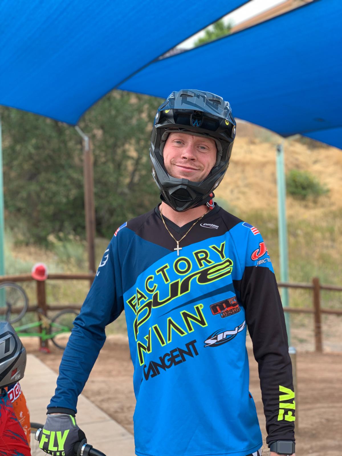 Hayden Raymond is a pro BMX rider living in Durango, Colorado. Photo courtesy Hayden Raymond