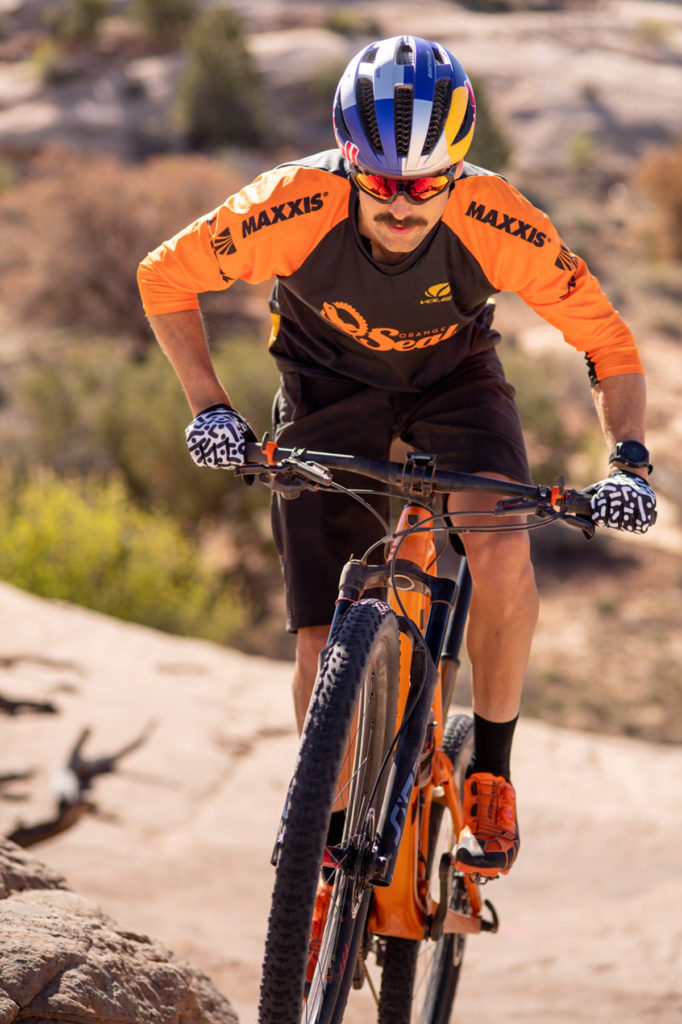 Pro mountain bike Payson McElveen. Photo courtesy Payson McElveen