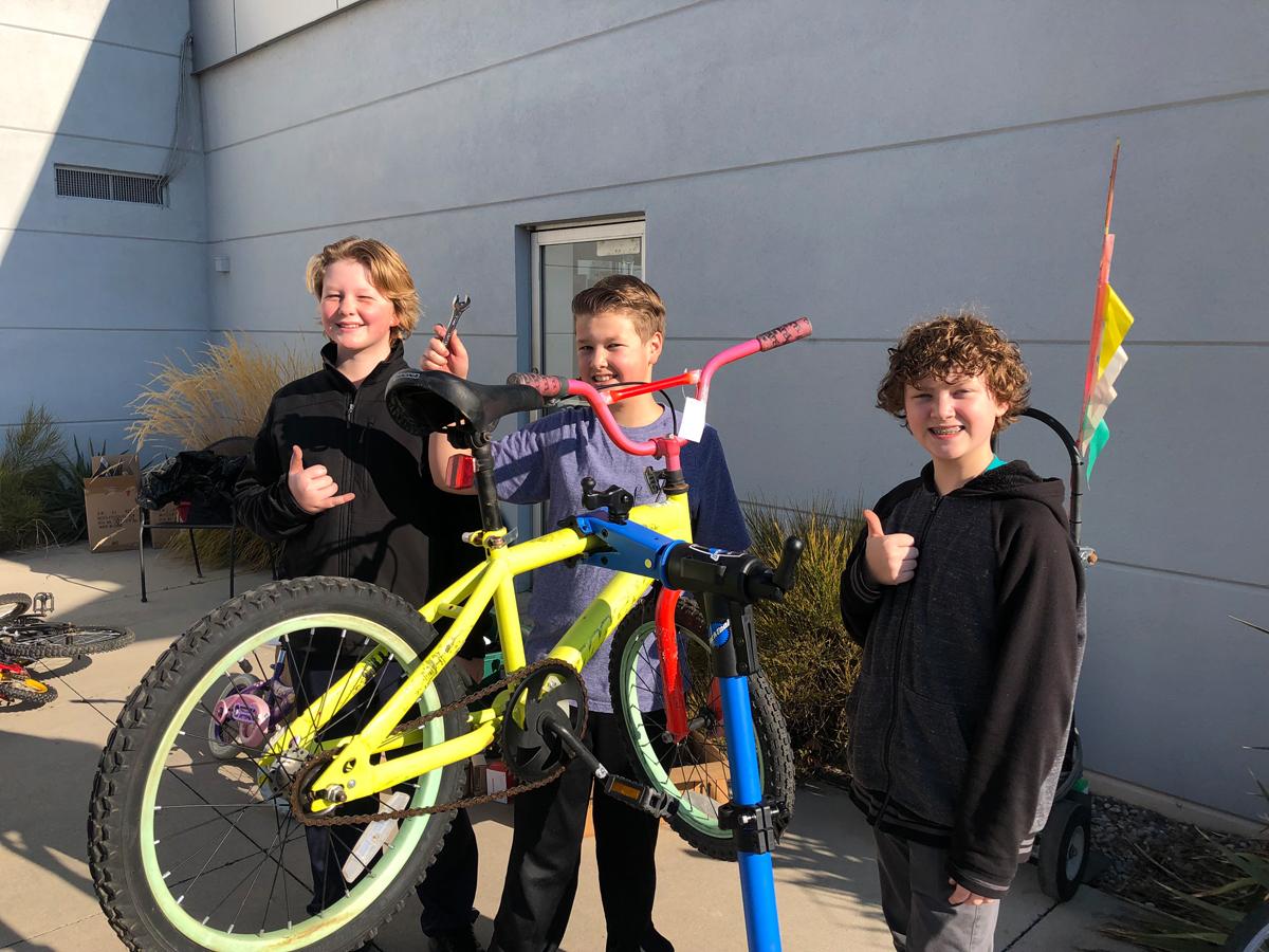Photo courtesy Free Bikes 4 Kidz