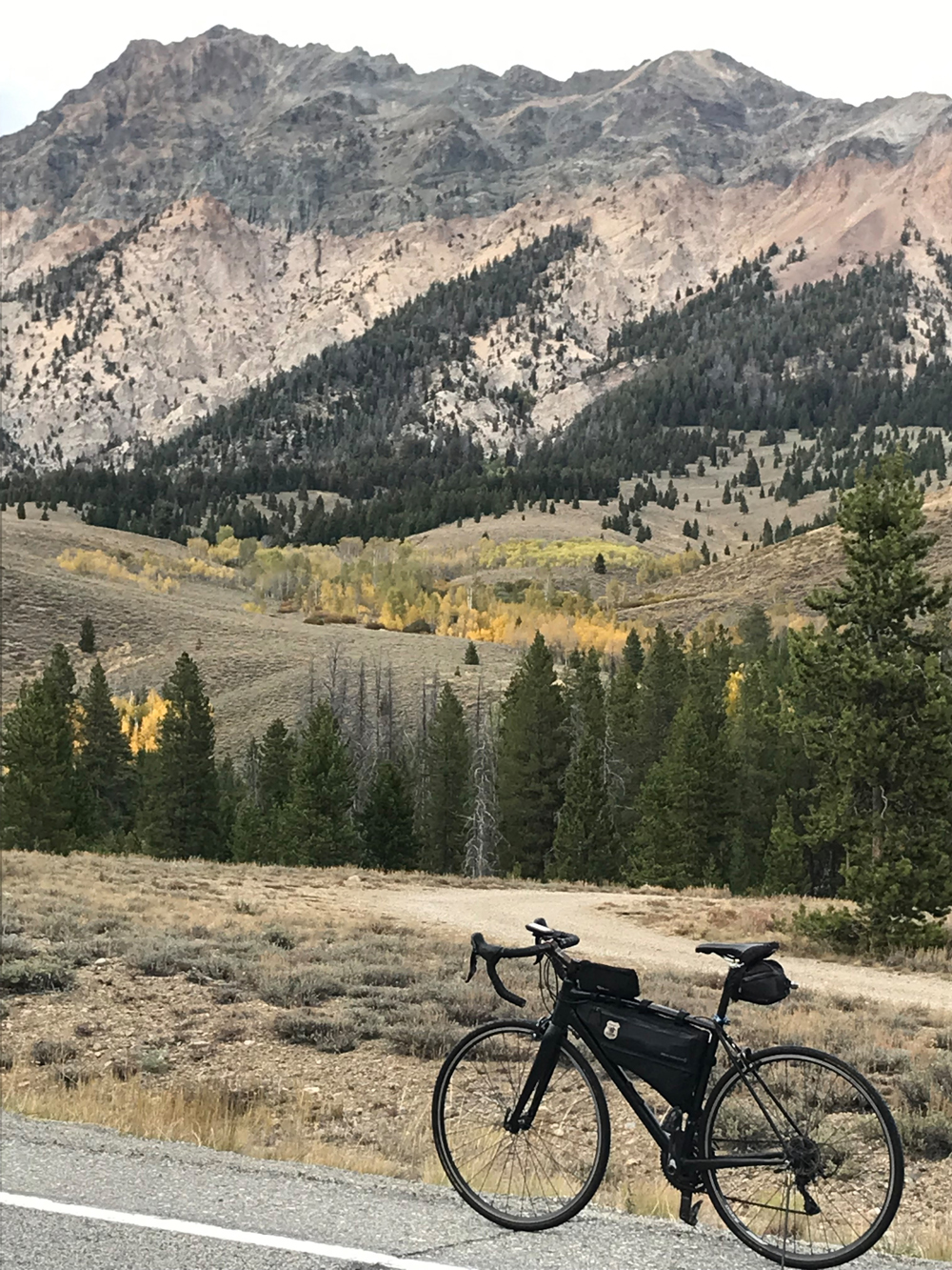 Sage, Sun Valley, and Sawtooths Ride. Photo by David Collins