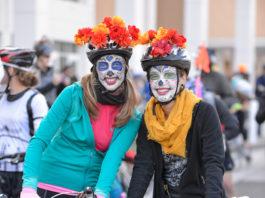 Riders celebrating Albuquerque's annual Day of the Tread. Photo courtesy Day of the Tread
