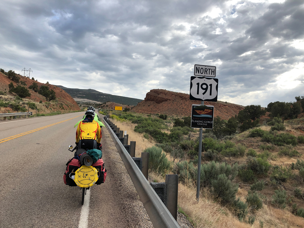 On the road to Flaming Gorge. Photo by Patrick Watson
