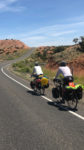 On the road in the Uintas Bike Tour. Photo by Patrick Watson