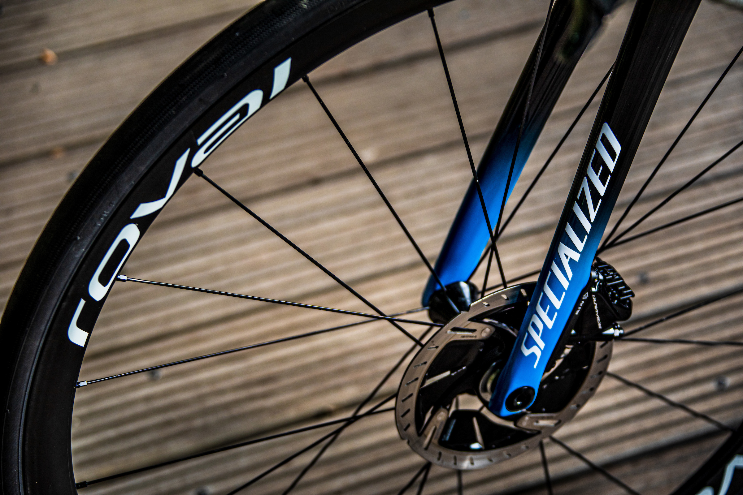 Julian Alaphilippe's new Specialized Tarmac SL7. Photo by Wout Beel/Deceuninck - Quick-Step