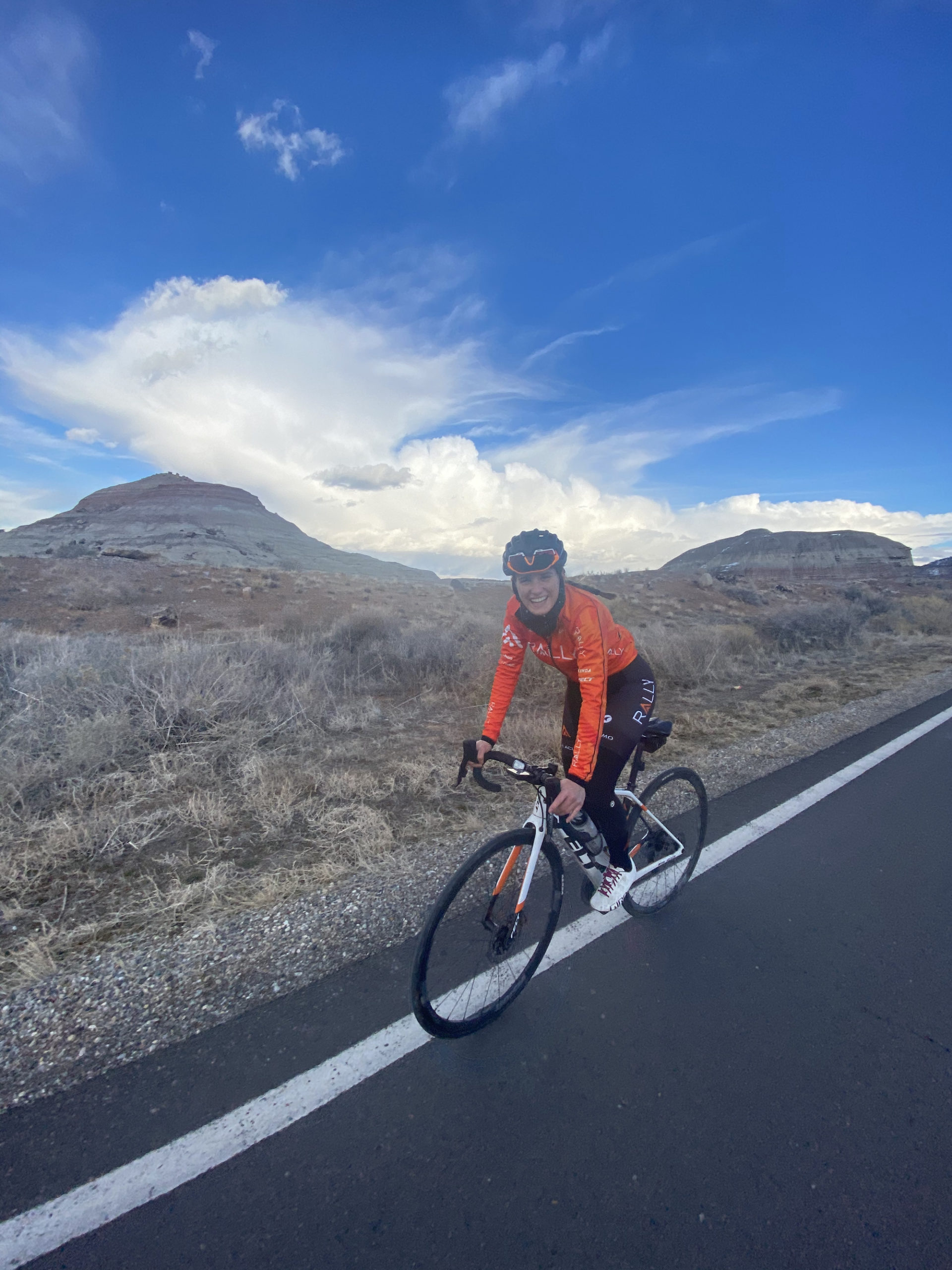Utah's Katie Clouse has joined Rally Cycling for 2021. Photo courtesy Katie Clouse