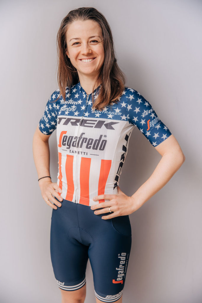 Ruth Winder. Photo courtesy Trek-Segafredo