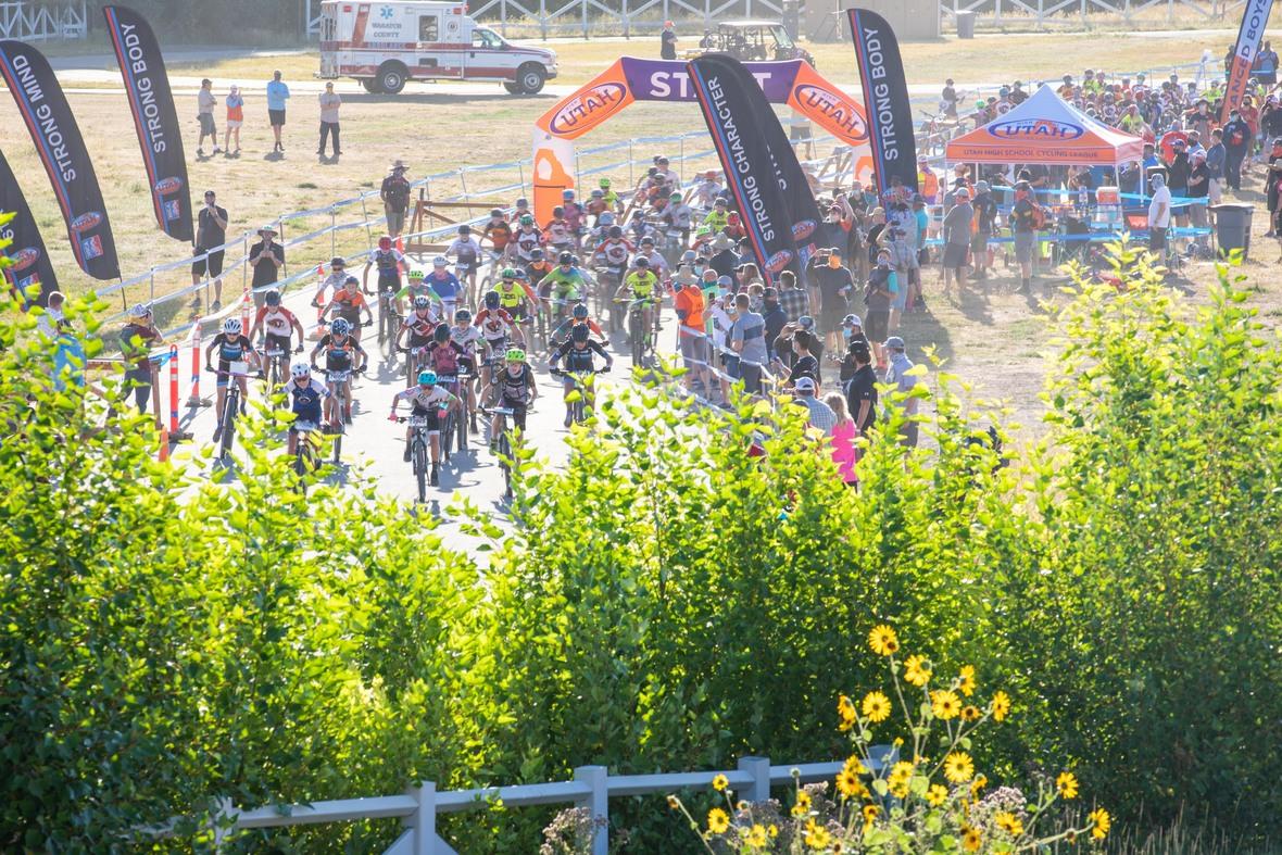 Utah League Student-Athletes racing at Soldier Hollow. Photo: Selective Vision