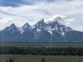 Teton National Park will be getting better bicycle access soon. Photo by Dave Iltis
