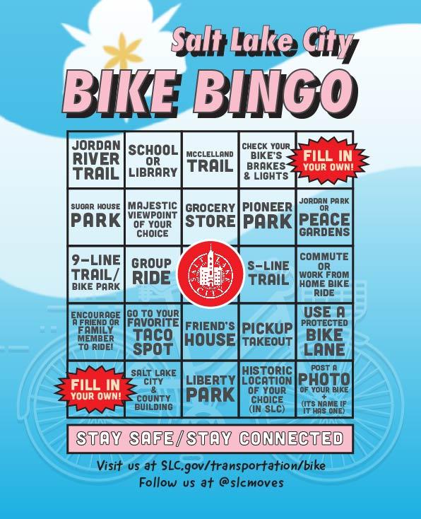Play Bike Bingo in Salt Lake City!
