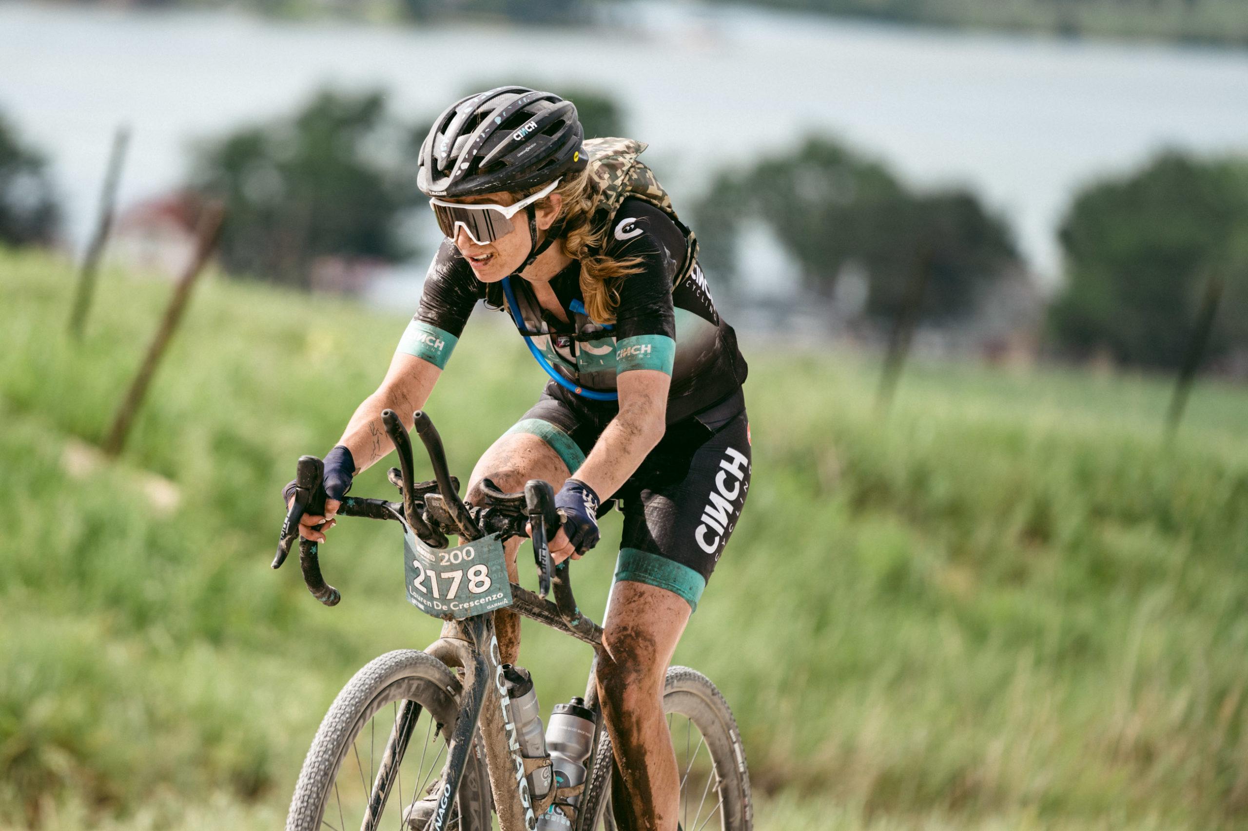 Women's UNBOUND 200 Winner, Lauren de Crescenzo. Photo courtesy ENVE Composites/Ian Matteson