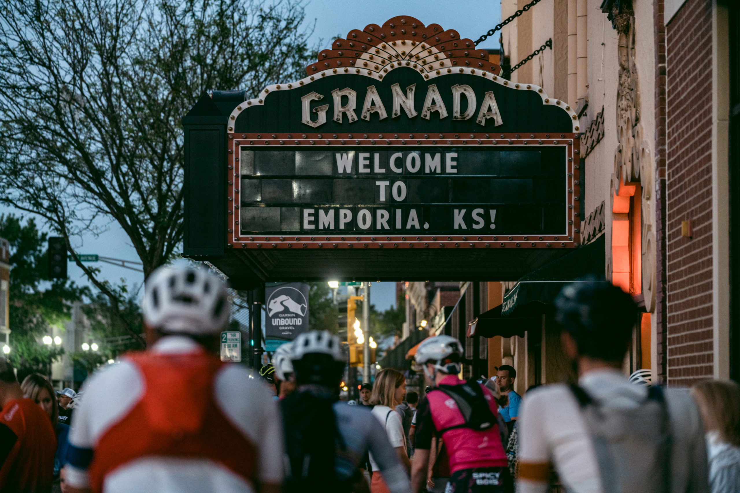 Welcome to Emporia, KS! Photo courtesy ENVE Composites/Ian Matteson