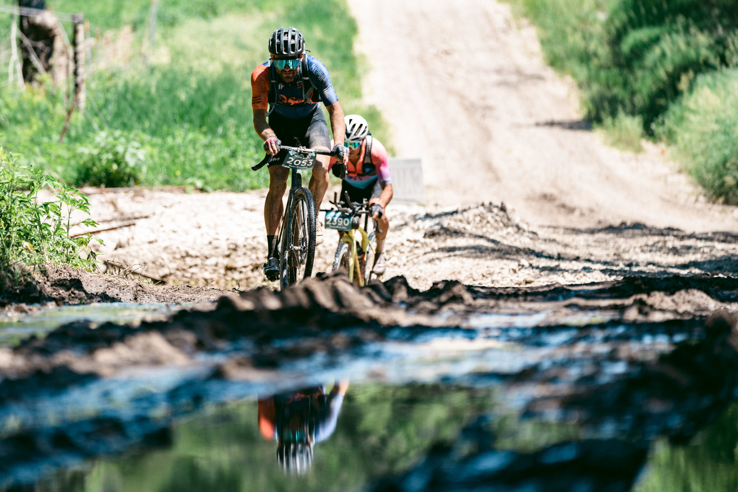 ... and water crossings ... Photo courtesy ENVE Composites/Ian Matteson