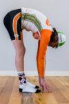 Figure 1:  Good Hamstring Flexibility. Photo by Erik Moen